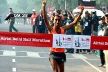 Ethiopia's Merga retains Delhi Half Marathon title