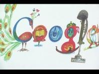 Indian kid's design for Google on November 14