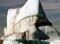 Rare iceberg spotted off island south of Australia