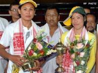 Indian women strike gold at Asian Indoor Games
