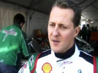 Schumacher races at go kart event in Las Vegas