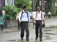 IMD sounds cyclone alert, Mumbaikars enjoy half-day