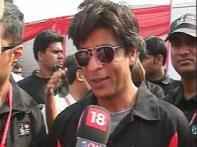 Watch: SRK excited to be part of Delhi Half Marathon