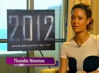 Exclusive: Thandie Newton on shooting against green screen