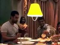 Watch: Aamir pays a surprise visit to Ganguly