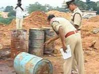 Abandoned chemicals spark scare in Bangalore
