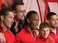 Drogba, Bono, Nike team up to support AIDS charity