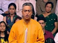 Rajdeep wins best anchor award for Battle for India