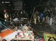 Bombings in two Pakistan cities kill 46 people