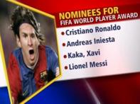 Ronaldo, Messi in FIFA Player of the Year list