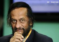 Pachauri takes on climate change skeptics