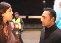 Watch: Actor Rahul Bose reaches Copenhagen
