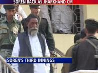 Third time lucky? Soren sworn in as Jharkhand CM