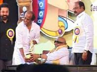 Hasan, Rajni come together for Tamil film awards