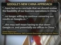 Google may quit China over censorship row