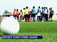 Hockey fiasco hots up, team goes on strike again