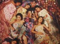 Rohit Chawla recreates works of Gustav Klimt