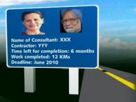 Billboards of Sonia, Manmohan to grace NH1 highway