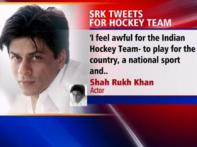 SRK tweets in support of 'unpaid' hockey players