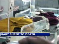Baby burnt to death in incubator while nurse sleeps