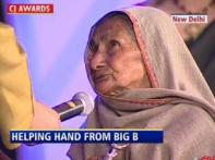 Now Big B promises Gayatri Devi of her pension