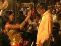 JDU MLA caught on camera dancing with bar girls
