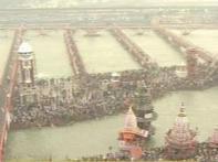 Pilgrims flock Maha Kumbh for Mahashivratri bath