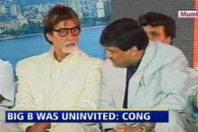 Was invited for sea-link event: Big B to Cong