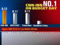 CNN-IBN: Top English news channel on Budget day