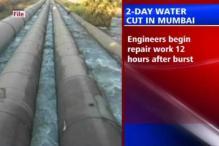 Pipeline bursts, Mumbai faces major water cut