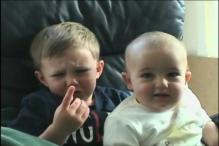 Biting baby, a YouTube hit