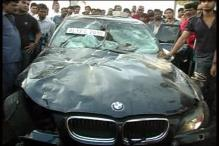 Speeding BMW kills 60 year old
