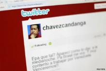 Hugo Chavez exhorts leftist icons to tweet
