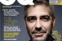 George Clooney on the cover of GQ