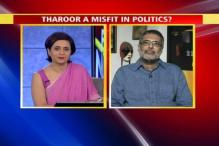 Is Tharoor a misfit in Indian politics?
