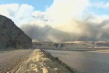 Iceland volcano smoke affecting locals