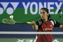 Saina advances in Asian Badminton Championship