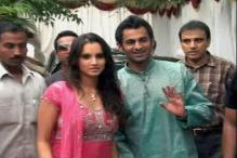 After mehendi, Sania waits for reception