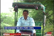 Delhi gets swanky rickshaws for CWG