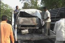 Another Tata Nano catches fire