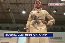 Islamic women take on the ramp in Turkey