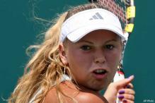 Wozniacki advances at Charleston