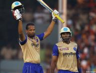 Four IPL centuries, one of a kind each