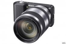 Sony unveils NEX-5, NEX-3 digital cameras