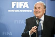 FIFA President roots for hosts South Africa