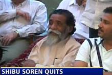 Soren steps down as Jharkhand CM
