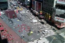 Times Square reopens after another bomb scare