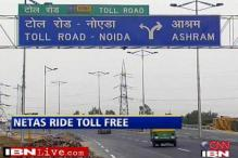 No toll tax for ministers, NHAI at loss