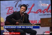 Pakistani singer Ali Zafar makes B'wood debut