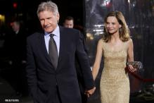 Harrison Ford marries Calista Flockhart